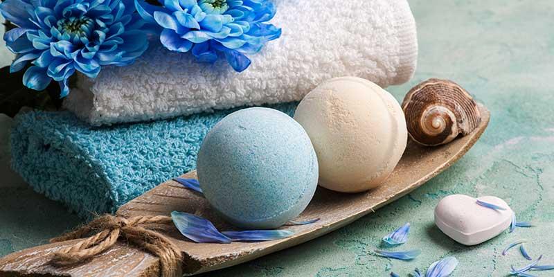 Organic & Natural Bath Bombs, Bath Fizzies
